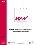 ESAIM: Mathematical Modelling and Numerical Analysis (ESAIM: M2AN) Cover page